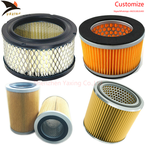 High quality Green paper truck air filter for Volvo 21337557