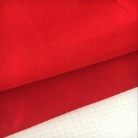 Adhesive Velvet Insert Jewelry Packing Fabric for Gift Box Upholstery Bag Interlining Wholesale
