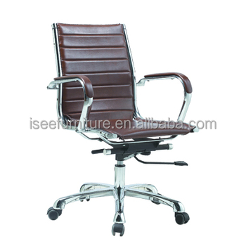 Steelcase Leather Office Rolling Chair 150kg Price IH616