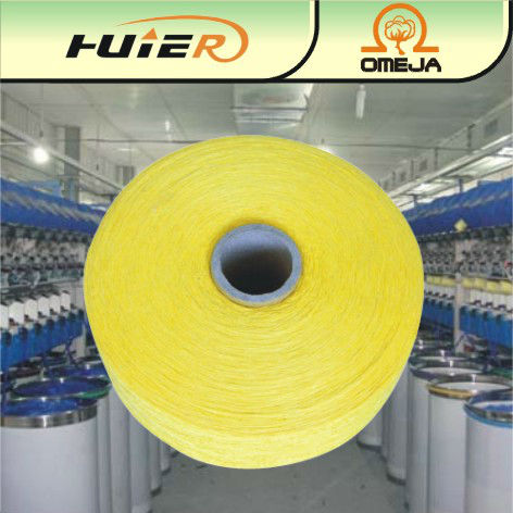 Open end recycle cotton yarn for face towel