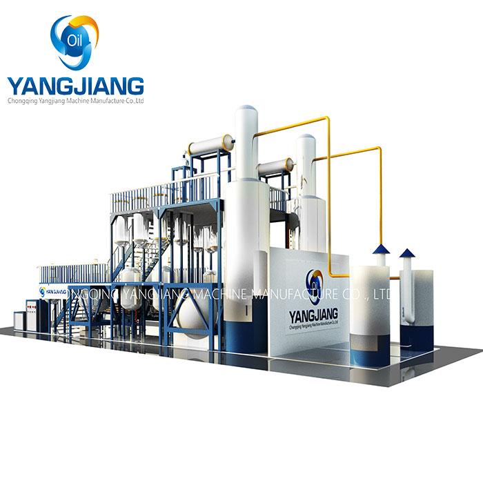 Mini Waste Oil Refining Distilator Oil Distillation To Diesel Fuel Machine