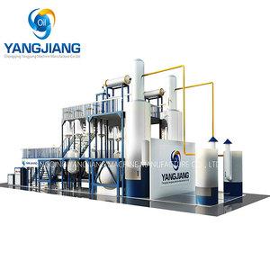 Mini Waste Plastic Oil Refining Distilator Oil Distillation To Diesel Fuel  Machine
