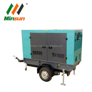 Small Chinese Yangdong diesel genset under 50kw with enclosure or not