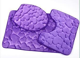 Microfibra memory foam bagno uso pezzo tappetino da bagno set
