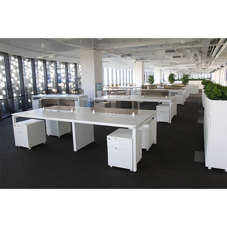 Newest factory <strong>design</strong> work table top station office furniture workstation customized good price Greenguard Certificate