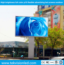 TekVision good price Electronic full color advertising signs / Outdoor commercial advertising led display screen