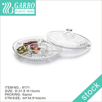 plastic plate with cover,plastic cake plate with cover