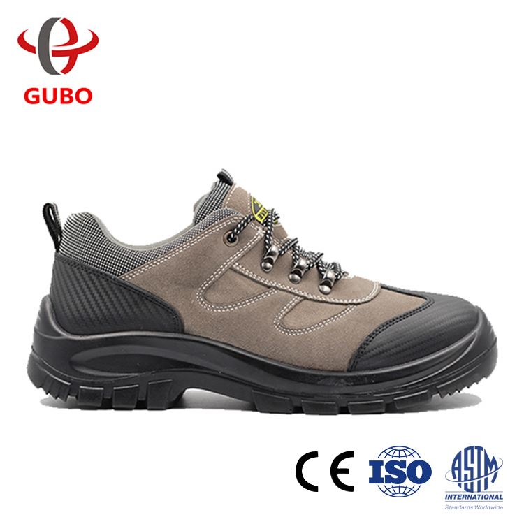 Made In China CE passed nitrile sole puncture proof brown safety shoes shoes