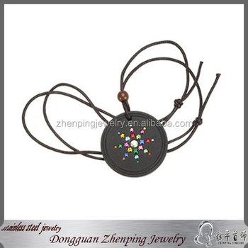 Leather braceletquantum science scalar energy pendant buy bio leather braceletquantum science scalar energy pendant aloadofball Gallery