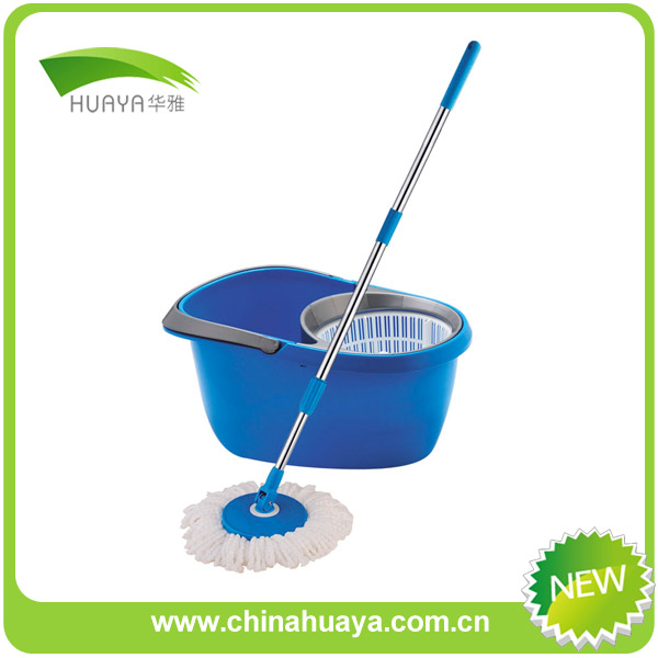households telescopic handle platinum spin mop