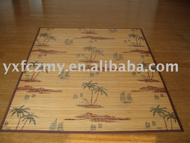 Painted Bamboo Rugs Supplieranufacturers At Alibaba