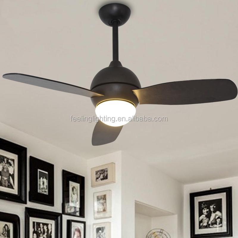 madera antigua de alta calidad ac ventilador de techo de luz led con control remoto