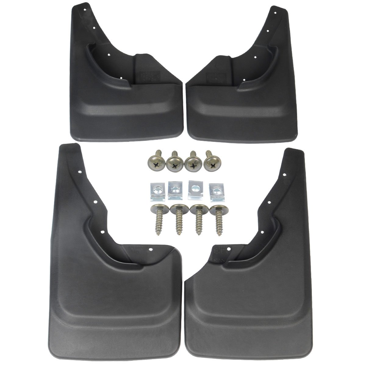A-Premium Splash Guards Mud Flaps Mudflaps for Jeep Grand Cherokee 1999-2004 Laredo Edition only 4-PC Set