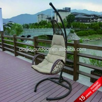 Patio Egg Shaped Wicker Chairs Cheap Hanging Chairs Garden Indoor Metal Stand Hanging Outdoor Rattan Basket Chair