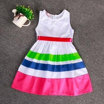 770ba092da0c0b Hot Koop 2016 Nieuwe Meisje Jurk Zomer Mode Gedrukt Jurk Baby Meisjes Jurk  Katoen Kinderkleding jurken