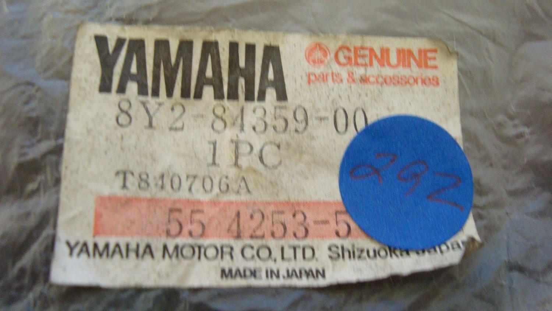 Yamaha Enticer 340 E 1979-1980 Black Slides Pair