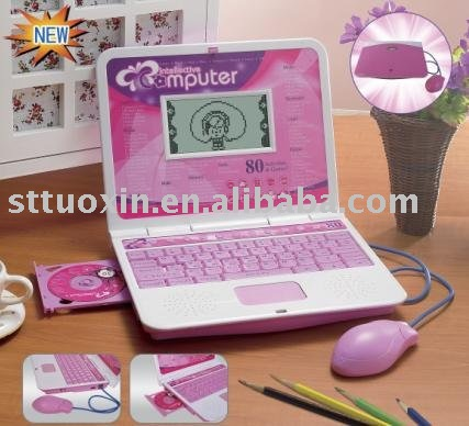 English learning machine with mouse&earphone&CD