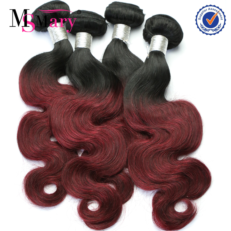 Aliexpress cheap wholesale burgundy brazilian human hair weave bundles фото