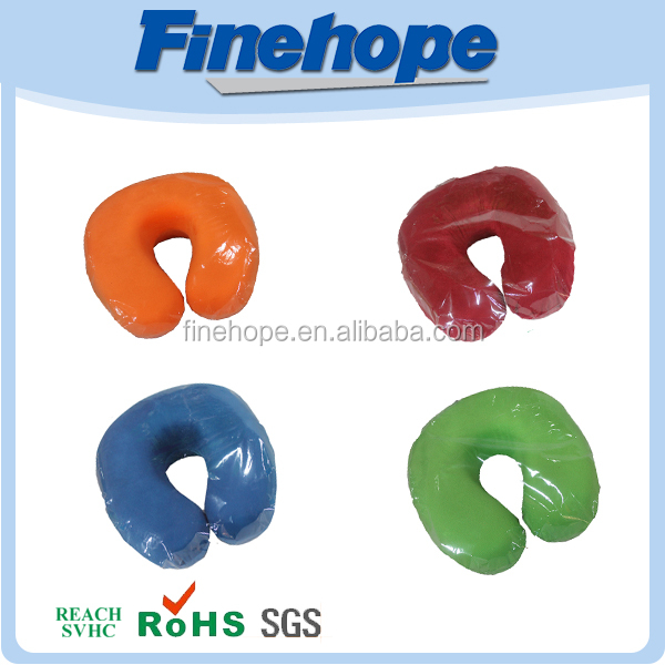 PU Polyurethane Soft memory airplane car cervical neck pillow