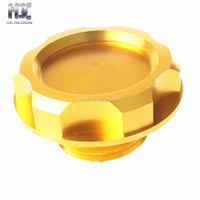 Top Quality cnc machining fuel oil gas tank cap Color Anodized