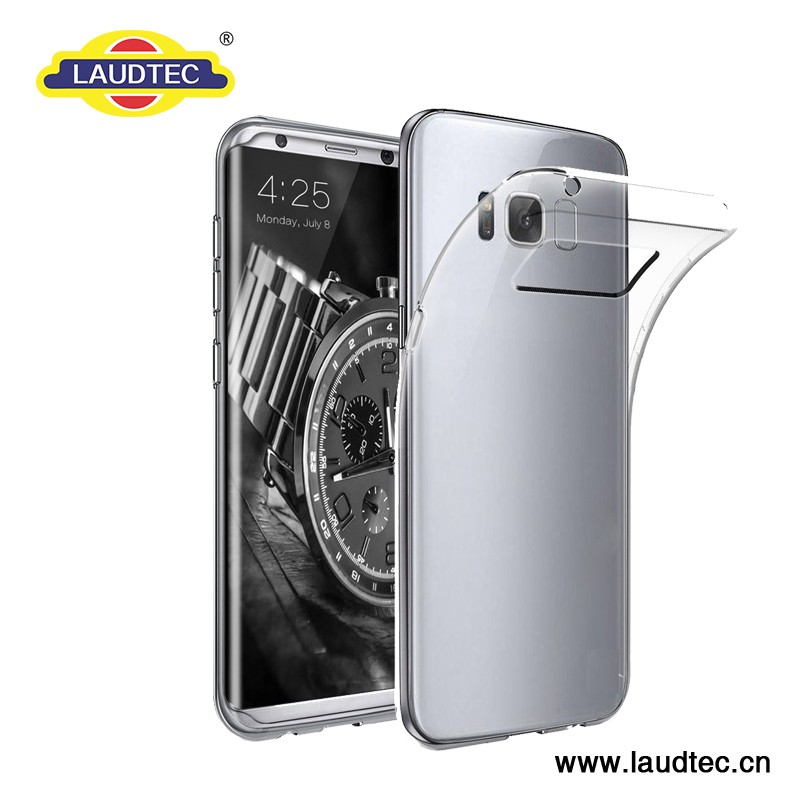transparent back cover case for samsung galaxy s8