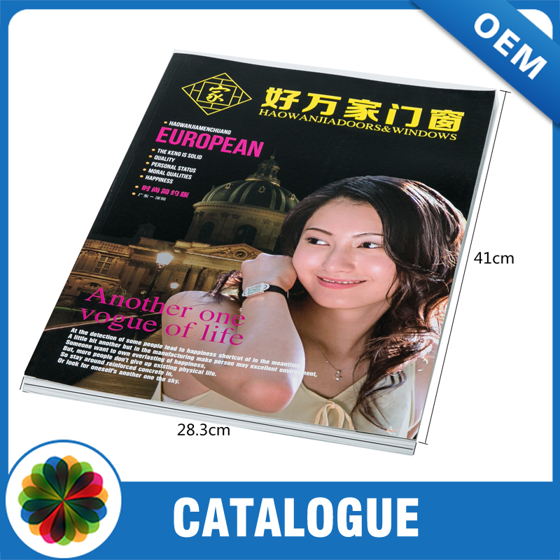 Magazine printing for periodical/month