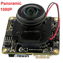 2megapixel 1080P 1/2.8″SONYIMX222 cctv180 degree fisheye lens onvif H.264 mini digital network ip camera board module