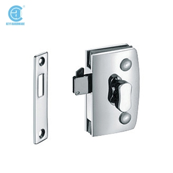 Thumb Turn Door Lock For Double Swinging Glass Doorcommercial Glass