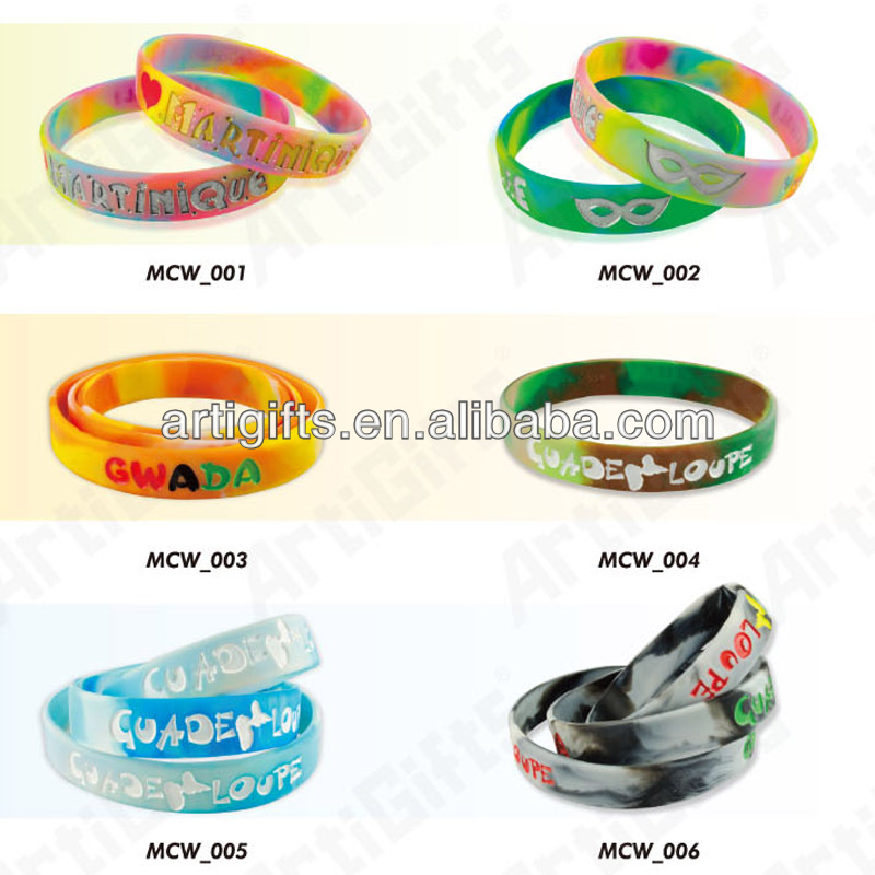 Customized Newest style comfortable and smooth polyester event wristband