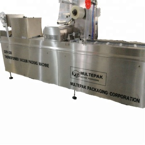 Medium-high performance level thermoform forming vacuum packing packaging machine for seafood/pasta/cooded food/sandwich/dates