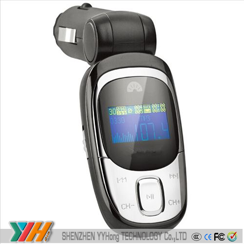 2014 new fashion instructions car mp3 player fm transmitter usb