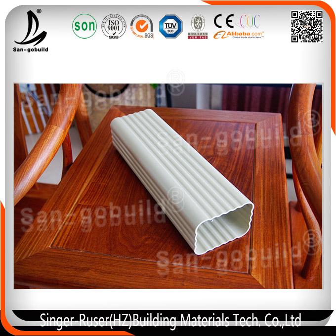 Nuevo dise o tipo de color de pl stico para techos - Precio de canalones de pvc ...