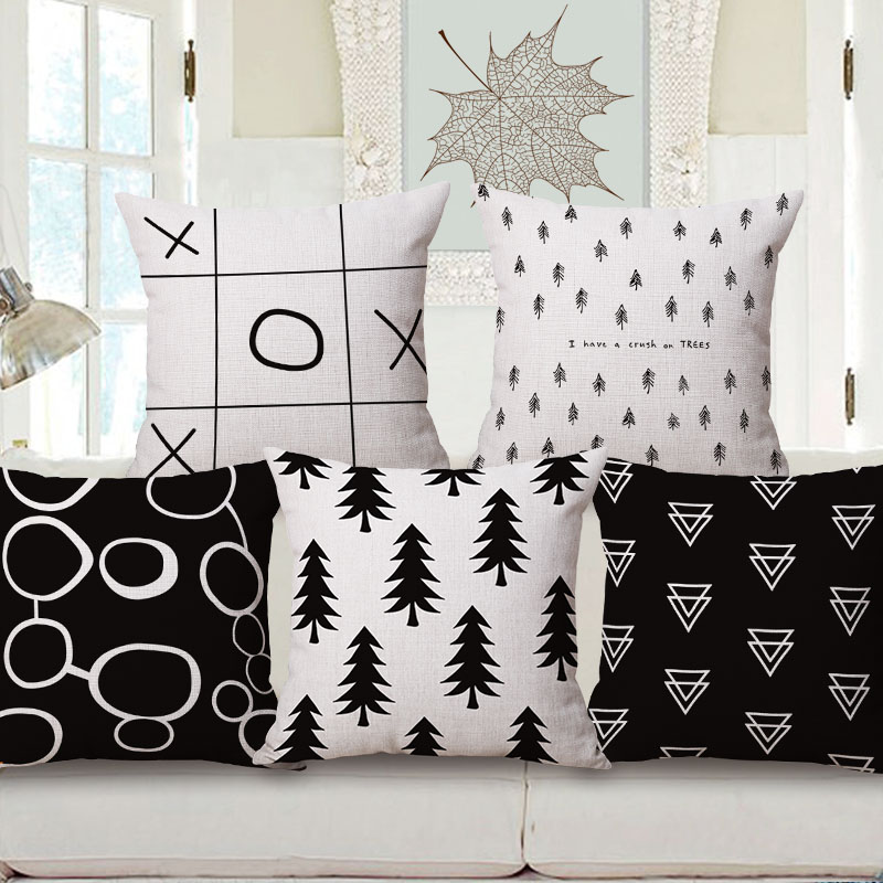 Top Quality Custom Design Piano Cushion Cover Sublimation Printing Pillow Case Cushion Cover