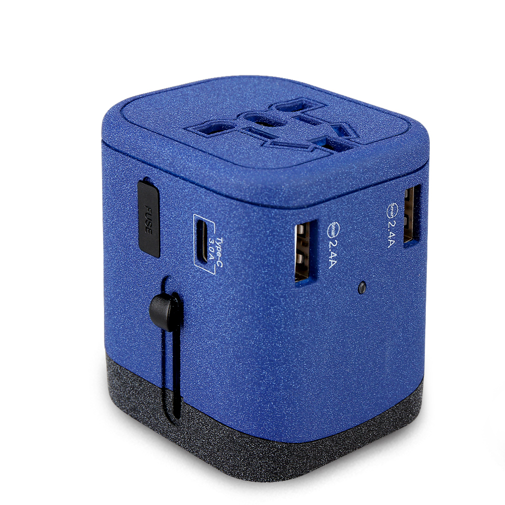 Universal travel adaptor multi USB charger adapter all in one UK US AU EU plugs фото