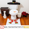 High quality promotional felt christmas seat cover for bathroom decoration
