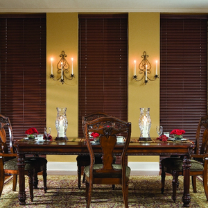 50mm basswood venetian window blinds with wand tilt or cord at cheap price