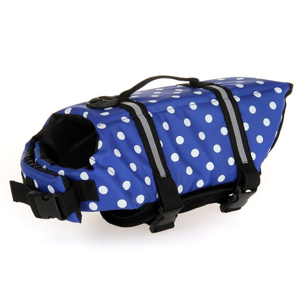 Chicdog Small Dog Life Jackets Life Vests for Swimming Life Vest Harness Dog Floatation Vest for Extra Small Dogs 6 Size Option