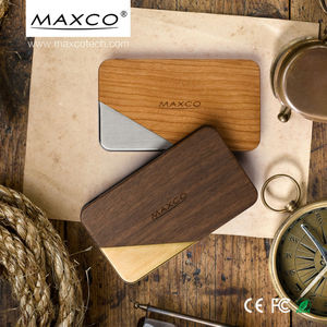 MAXCO high capacity rechargeable usb mobile power bank station batteries