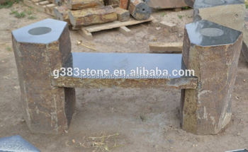 Backless Garden Stone Bench,outdoor/garden Concrete Bench ,stone Benches  For Sale