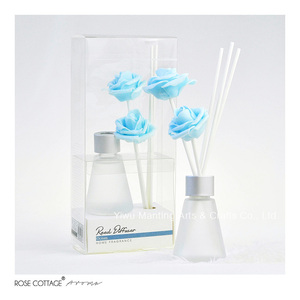 ROSE COTTAGE Home Fragrance Oil Reed Diffuser Glass Bottle Aroma