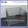 Runye galvanized warehouse collapsilbe stackable steel wire cage