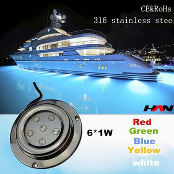 High lumen dc12v 6w 316 stainless steel ip68 luminaire lighting swimming pool buy luminaire for Underwater luminaire for swimming pool