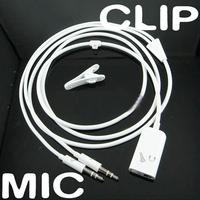 3.5mm Audio Cable Adapter Microphone and Earphone 2 in 1 Audio Cable Adapter
