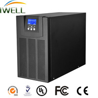 1KVA high frequency online ups with pure sine wave power inverter battery backup