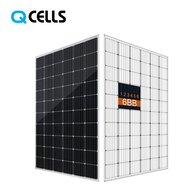 Hanwha Q-CELLS high efficiency solar <strong>panel</strong> 300w 305w 310w mono with cheap price for distribution