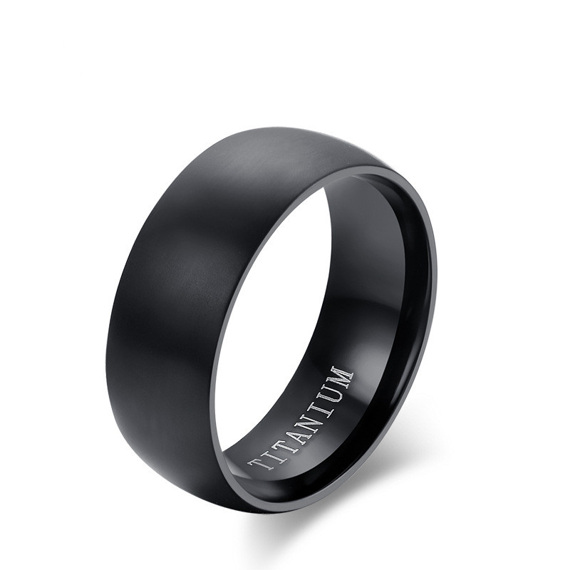 8mm width Titanium steel <strong>Rings</strong> For Men 8mm Cool Black Men' <strong>Ring</strong> Jewelry Wedding Engagement Male Gift Aliexpress sales