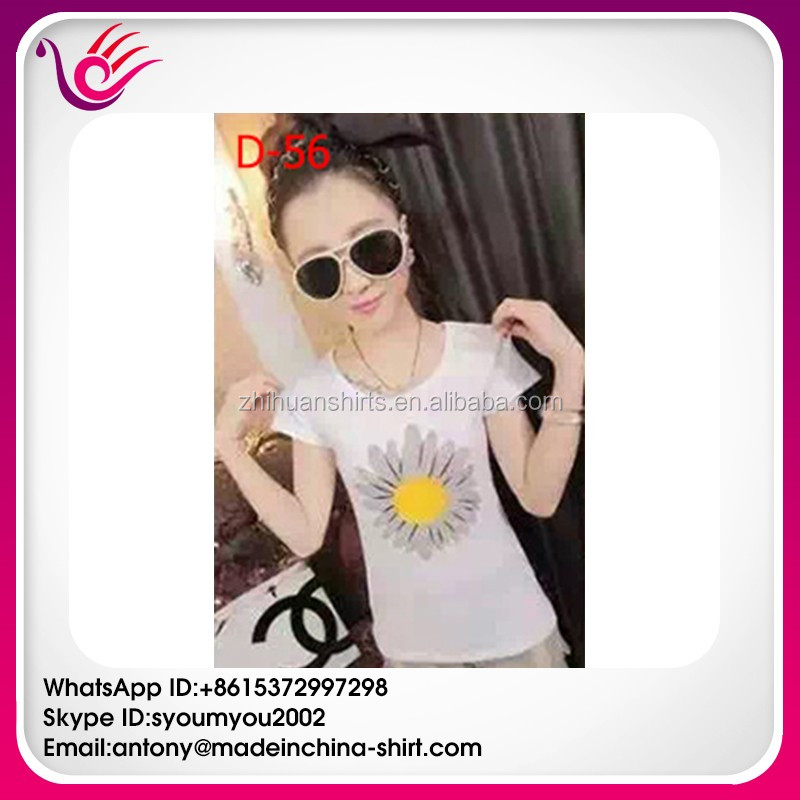 Hot sale top quality best price ready stock plain t-shirts