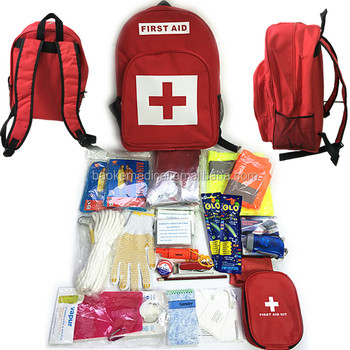 Red Cross Earthquake Emergency Kit And Bug Out Bag Disaster Survival For 2 Persons