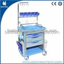 BT-NY001 Cheap price abs nurse medical treating trolley