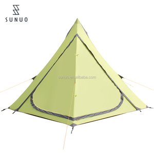 Outdoor picnic beach party tent 6-8 person aluminum alloy Rainproof waterproof tent camping family equipment